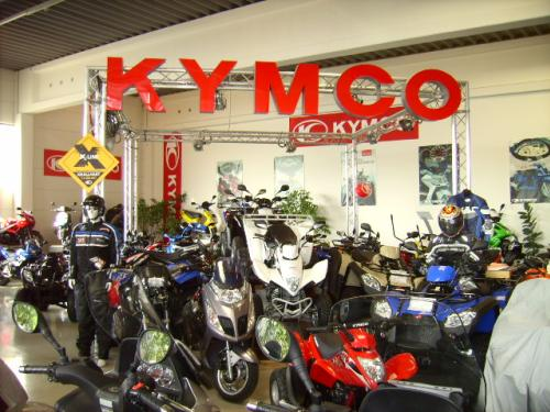 KYMCO  Messepräsentation 2008